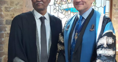 PIMS Dean Dr Vivekanand conferred with medal of Royal college of Obstetrics and Gynaecology (RCOG), London